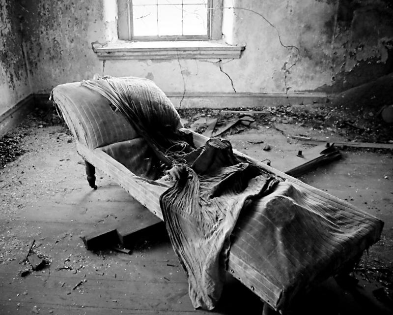 State of Disrepair - photograph by Sarah R. Bloom