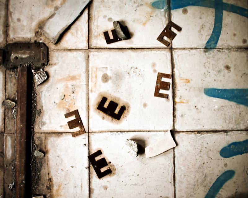 E E E E E - photograph by Sarah R. Bloom