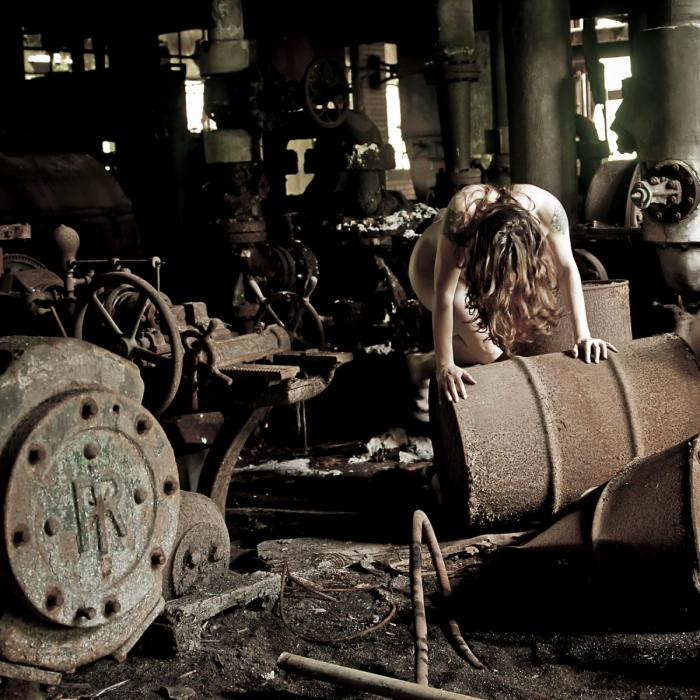 Rust Never Sleeps - photograph by Sarah R. Bloom