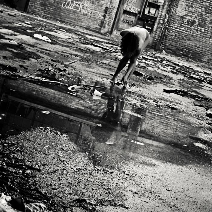 Reflection of the Way Things Used to Be, photograph by Sarah Bloom